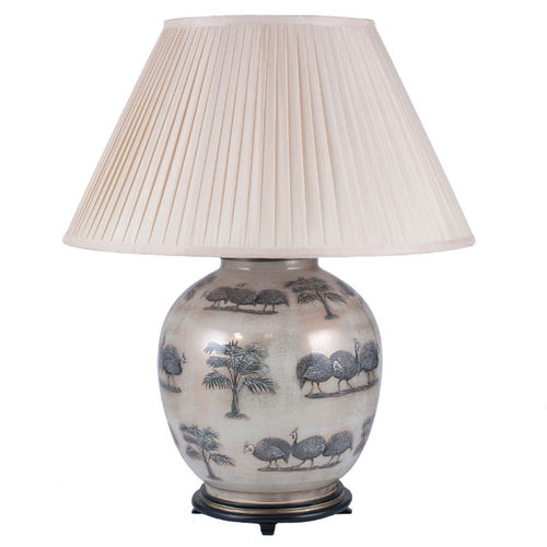 Jenny Worrall Large Guinea Fowl Table Lamp