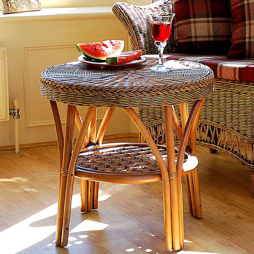 Small Round Conservatory Coffee Table