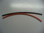 6mm Heatshrink  Red & Black 300mm in Length