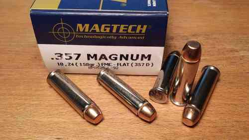 Magtech/CBC - 357 Magnum 158 Grain Full Metal Jacket Flat 357D (50)