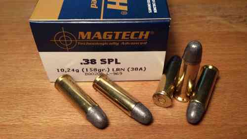 Magtech/CBC - 38 Special 158 Grain Lead Round Nose 38A (50)