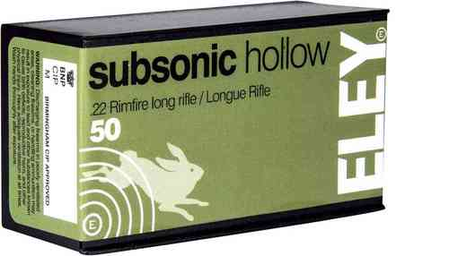 .22 Eley Subsonic Hollow 40gr (50)