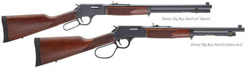 Henry Big Boy Steel .45 Colt Underlever Rifle (Standard or Carbine)