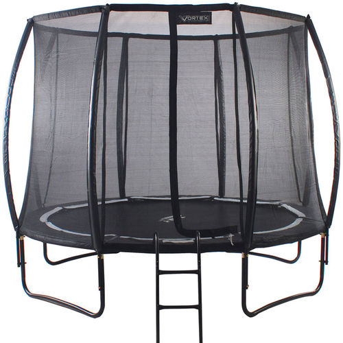 NEW 10ft Telstar Vortex BLACK Edition Trampoline and Enclosure