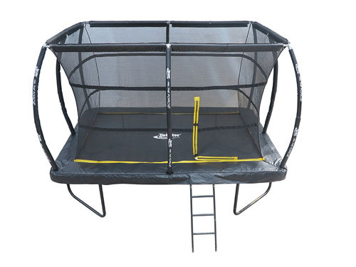 8ft x 12ft Telstar ELITE Rectangle Trampoline Package Including Cover and Ladder