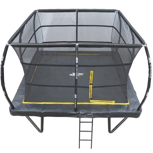 15ft x 15ft Telstar ELITE Bounce Arena Square Trampoline Package Including Cover and Ladder