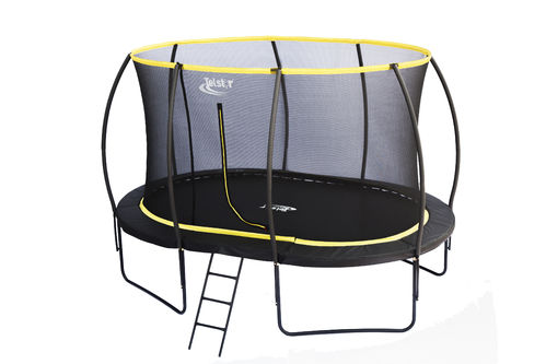 9 x 13ft Oval Telstar Orbit Trampoline And Enclosure Package