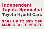 Independent Toyota Specialist, London