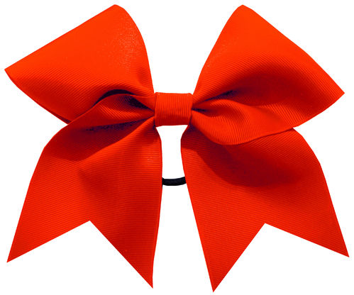 Red Grosgrain Training Bow