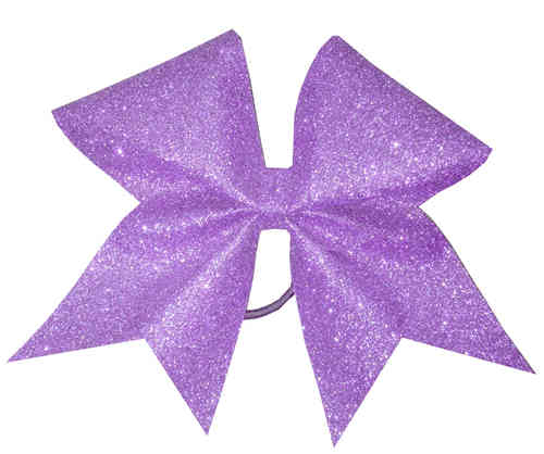 All Glitter Lilac Training Bow