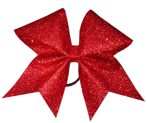 All Glitter Red Training Bow