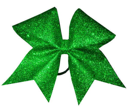 All Glitter Green Training Bow