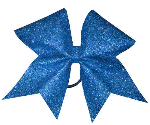 All Glitter Blue Training Bow