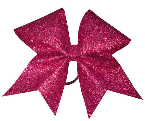 All Glitter Cherry Pink Training Bow
