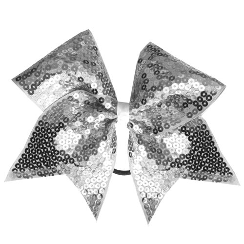 Full Sequin Silver Training Bow