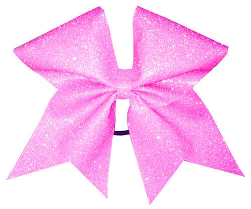 All Glitter HOLO Light Pink Training Bow
