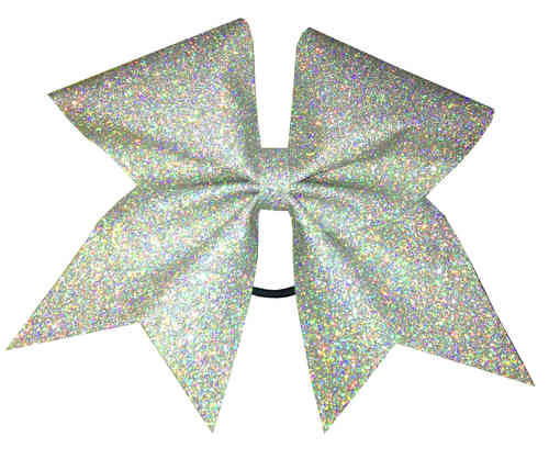 All Glitter Holographic Silver Training Bow