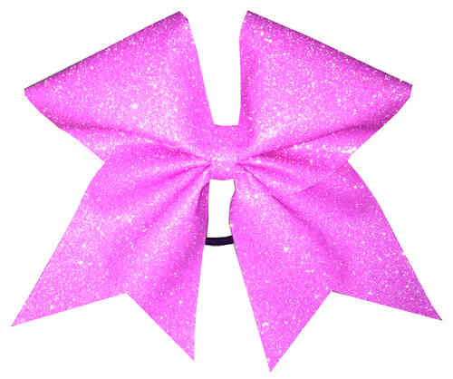 All Glitter Neon Pink Training Bow
