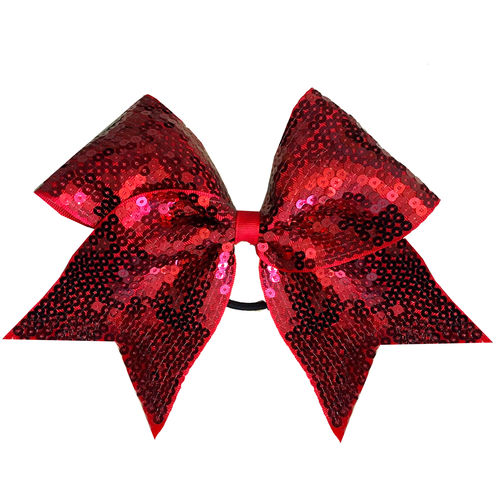 Full Sequin Red Training Bow