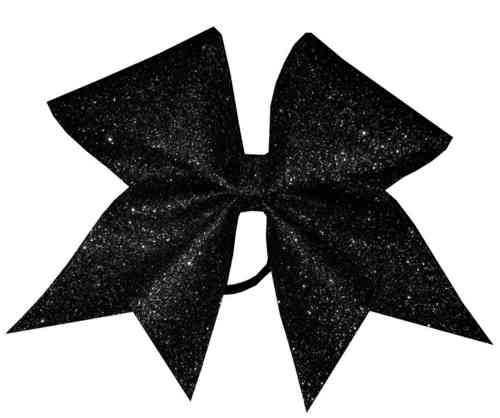 All Glitter Black Training Bow