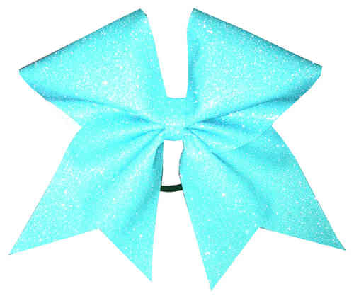 All Glitter neon Blue Training Bow