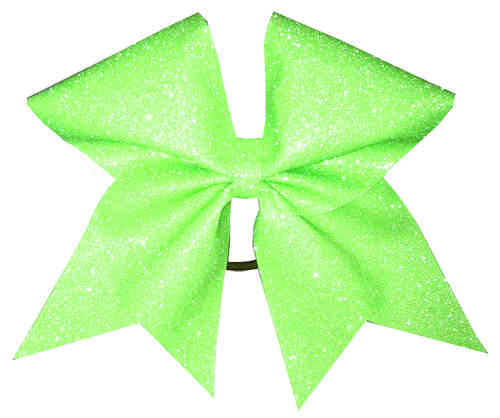 All Glitter Neon Green Training Bow