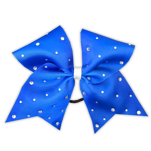 Grosgrain Royal Rhinestone Bow
