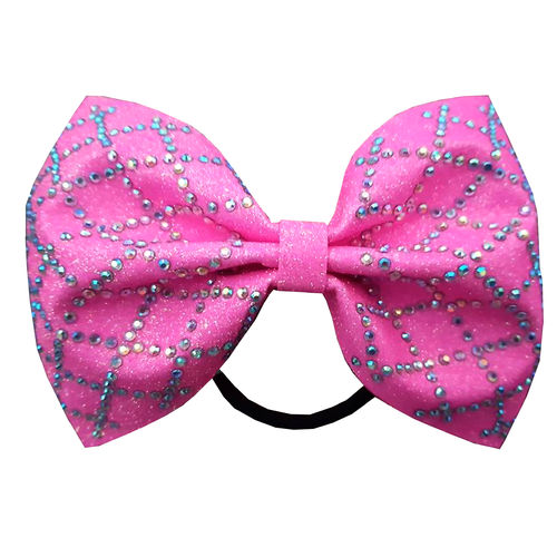 Neon Diamond Tailless Bows - Options Available