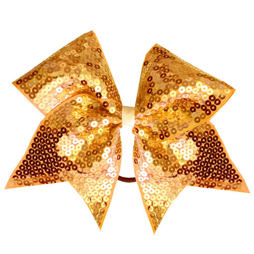 Full Sequin Gold Training Bow