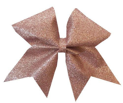 All Glitter Rose Gold Training Bow