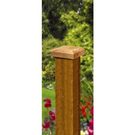 Fence Post Cap - Pressure Treated