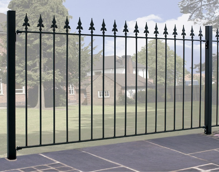 Saxon Metal Fencing - 1257mm (h)