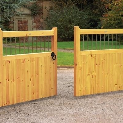 A Selection of Wooden Drive Gates