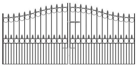 View our Wrought Iron Drive Gates