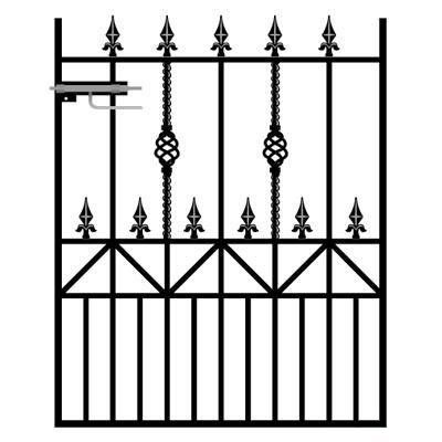 View our Wrought Iron Garden Gates