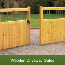 A Selection of Hand Crafted Wooden Driveway Gates